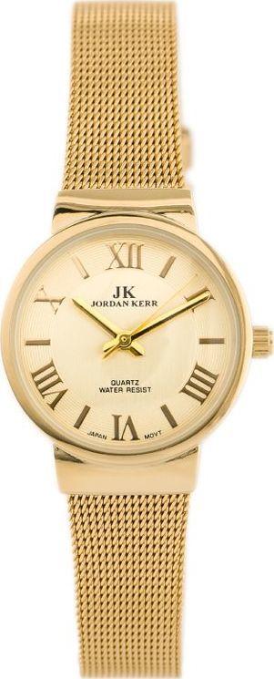 Zegarek Jordan Kerr JORDAN KERR 3038L-9 (zj797c) - antyalergiczny uniwersalny 1