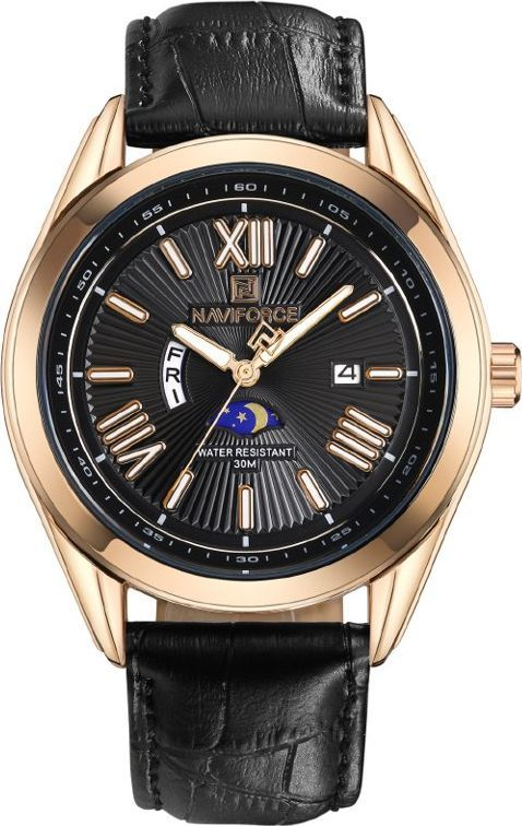 Zegarek Naviforce NAVIFORCE - NF9108 (zn049c) - black/rosegold uniwersalny 1