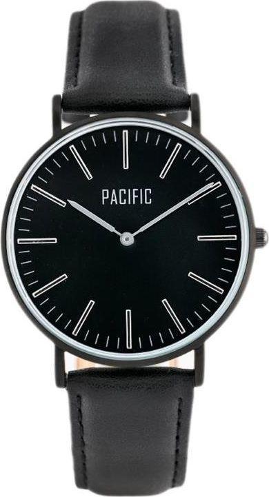 Zegarek Pacific PACIFIC CLOSE (zy588a) - black/silver uniwersalny 1