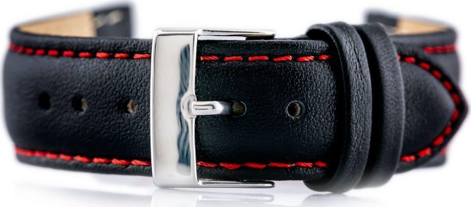 Bisset Pasek skórzany do zegarka BISSET BS-204 - 18mm uniwersalny 1