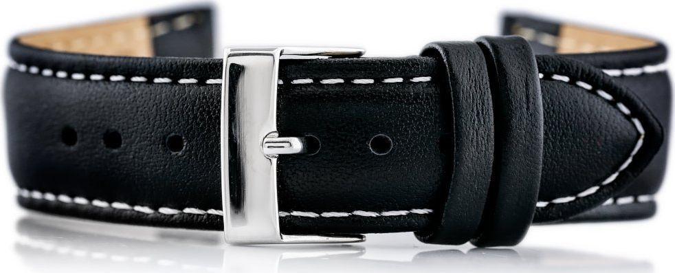 Bisset Pasek skórzany do zegarka BISSET BS-203 - 20mm uniwersalny 1