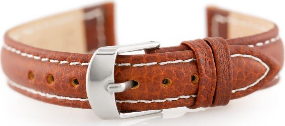 Pacific Pasek skórzany do zegarka W71 - brązowy - 14mm uniwersalny 1