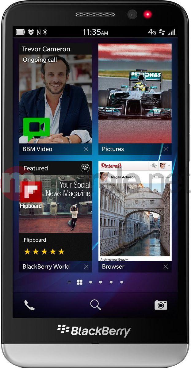 Smartfon Blackberry Z30 16 GB Czarny  (Z30BLACK) 1