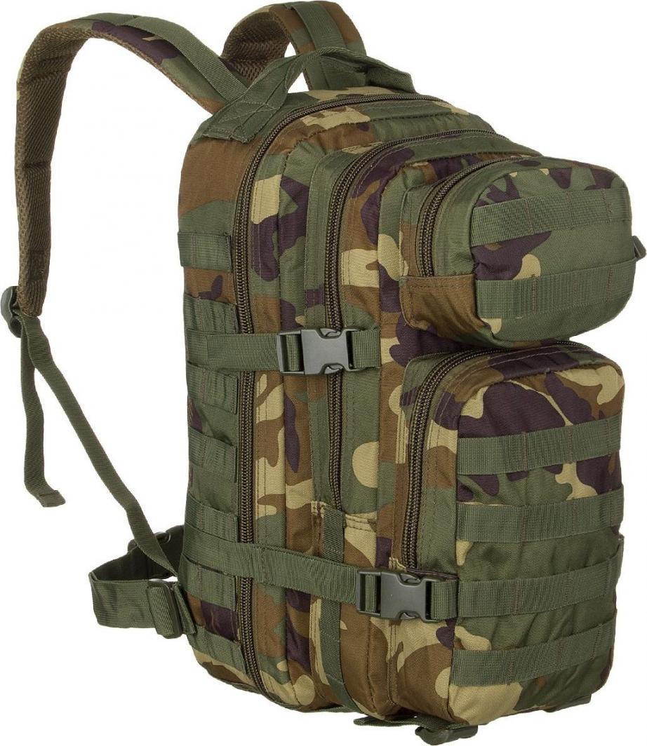 Mil-Tec Plecak Taktyczny Assault Mały Woodland uniwersalny 1