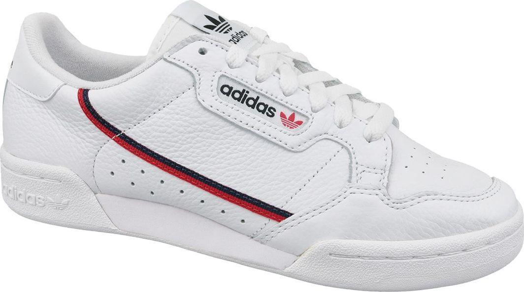 Adidas Buty męskie Continental 80 białe r. 45 1/3 (G27706) 1