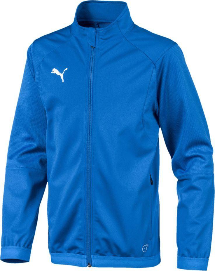 Puma Bluza dziecięca Liga Training Jacket niebieska r. 128 (655688 02) 1
