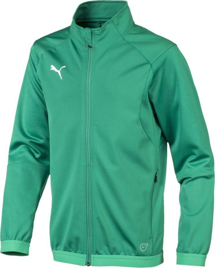 Puma Bluza dziecięca Liga Training Jacket zielona r. 128 (655688 05) 1
