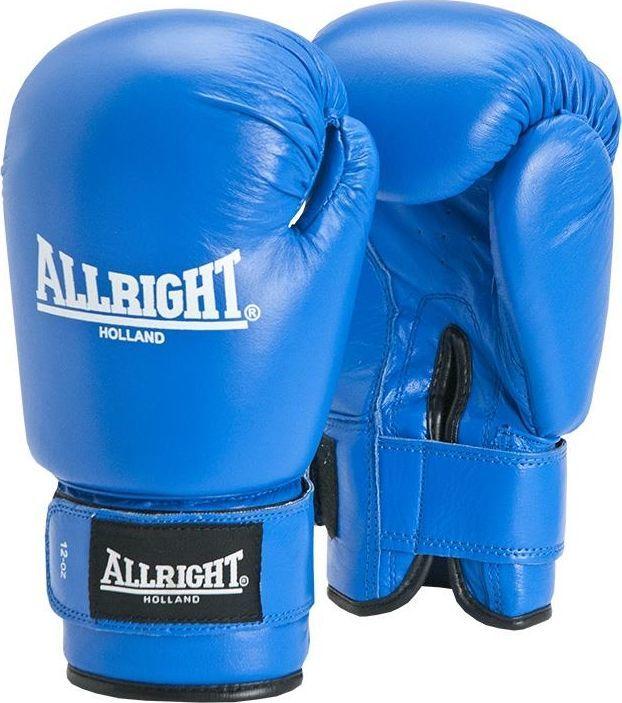 Allright Rękawice bokserskie Professional 10 oz Allright Niebieskie uniwersalny 1