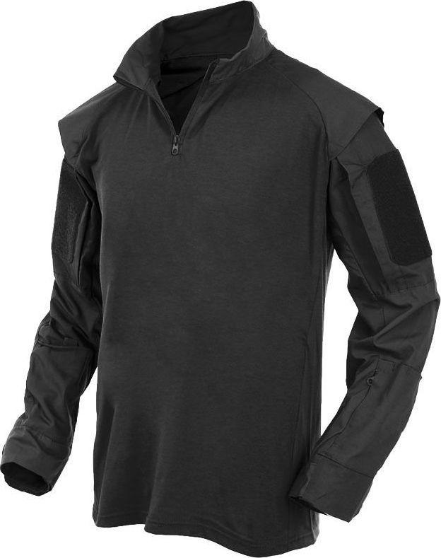 MFH MFH Koszula Taktyczna z Długim Rękawem Czarna XL 1