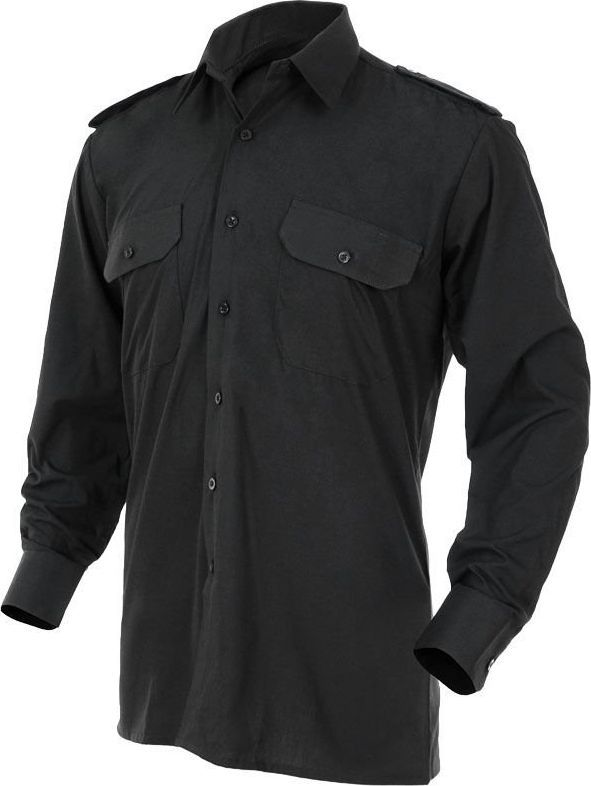 Mil-Tec Mil-Tec Koszula Mundurowa Czarna XL 1