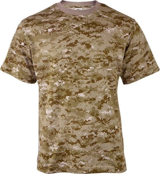 Highlander Koszulka męska Digital Desert khaki r. S 1