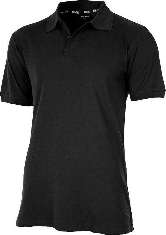 Mil-Tec Koszulka męska Polo Czarna r. M 1