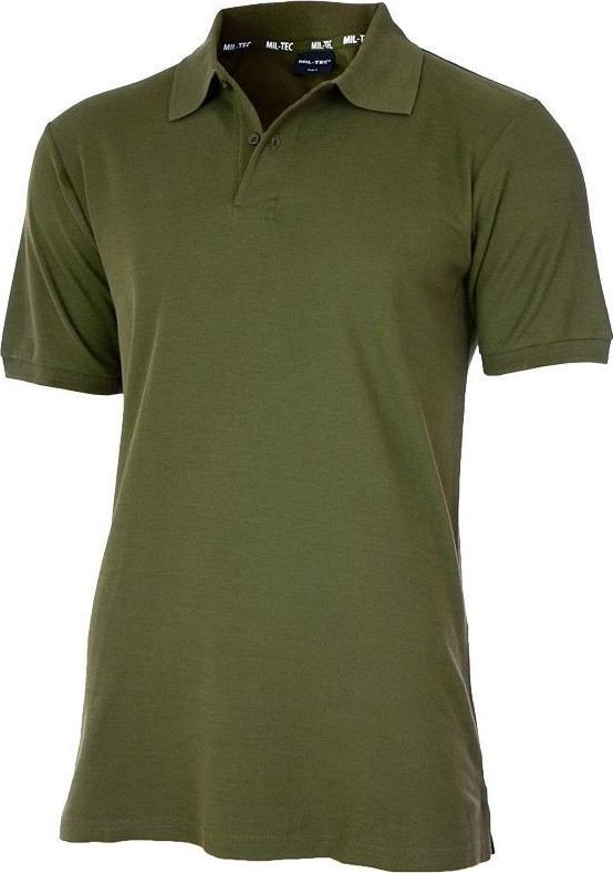 Mil-Tec Koszulka męska Polo Olive r. S 1