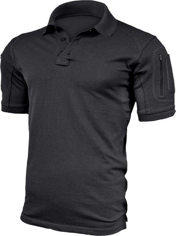 Texar Koszulka męska Polo Elite Pro Czarna r. 3XL 1