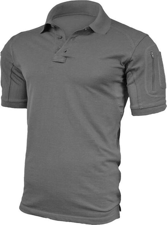 Texar Koszulka męska Polo Elite Pro Szara r. L 1