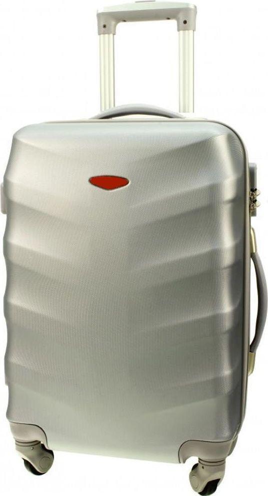PELLUCCI Duża walizka PELLUCCI 81 L Srebrna uniwersalny 1