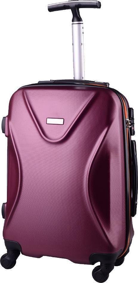 PELLUCCI Mała kabinowa walizka PELLUCCI 750 S Bordowo Pomarańczowa uniwersalny 1