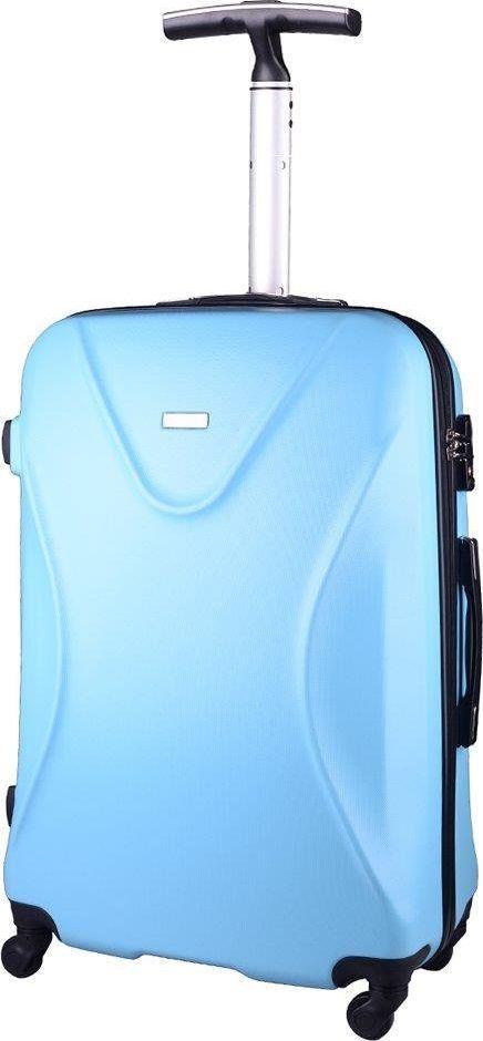 PELLUCCI Mała kabinowa walizka PELLUCCI 750 S Turkusowa uniwersalny 1