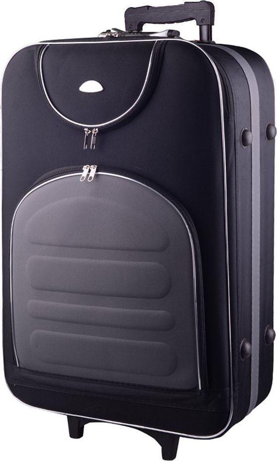 PELLUCCI Duża walizka PELLUCCI 801 L - Czarno Szara uniwersalny 1