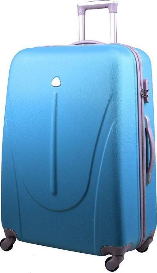 PELLUCCI Średnia walizka PELLUCCI 883 M - Turkusowa uniwersalny 1