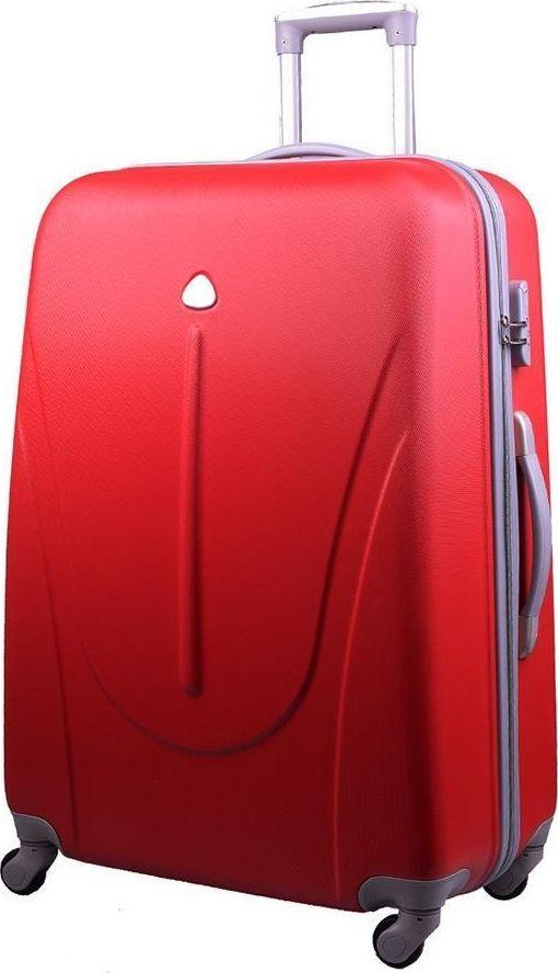 PELLUCCI Średnia walizka PELLUCCI 883 M - Czerwona uniwersalny 1