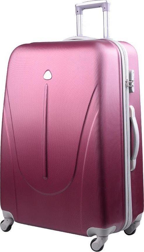 PELLUCCI Mała walizka kabinowa PELLUCCI 883 S - Bordowa uniwersalny 1
