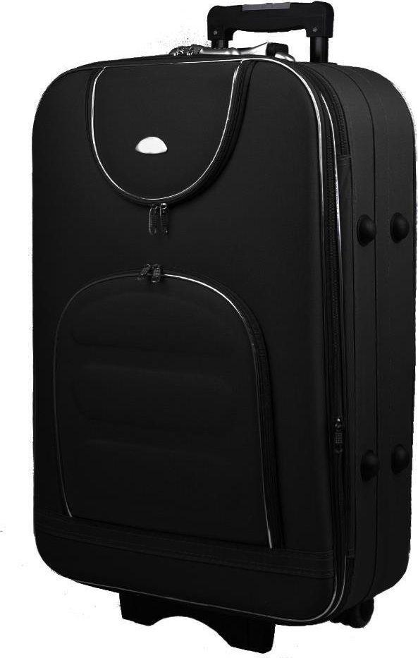 PELLUCCI Duża walizka PELLUCCI 801 L - Czarna uniwersalny 1