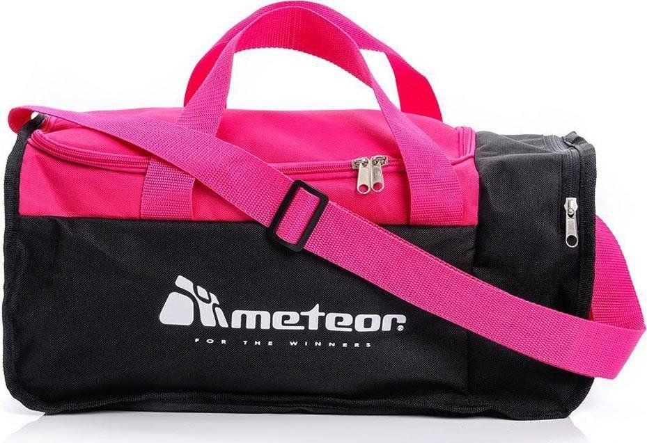 Meteor Torba METEOR Fitness Nepr 20 L 74504 Różowo czarna uniwersalny 1