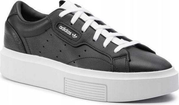 Adidas Buty damskie Sleek Super W czarne r. 37 1/3 (EE4519) 1