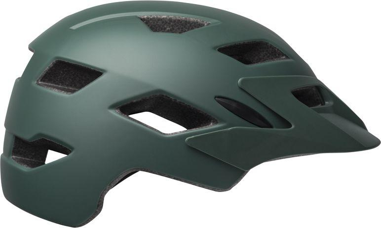 BELL Kask juniorski Sidetrack matte dark green orange r. Uniwersalny (50–57 cm) (BEL-71018) 1
