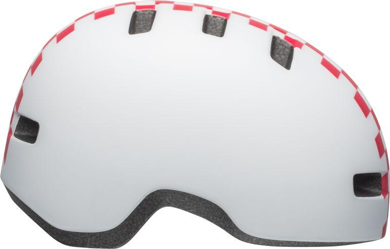 BELL Kask dziecięcy Lil Ripper checkers matte white pink r. S (48–55 cm) (BEL-7104370) 1