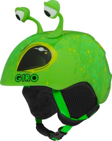 GIRO Kask dziecięcy Launch Plus bright green alien r. XS (48.5-52 cm) (GR-7094018) 1
