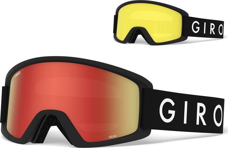 GIRO Gogle zimowe Semi black core (7083510) 1