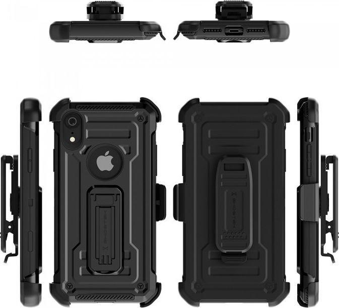 Ghostek Etui Ghostek Iron Armor 2 Motorola Moto G7 Black + Szkło 1