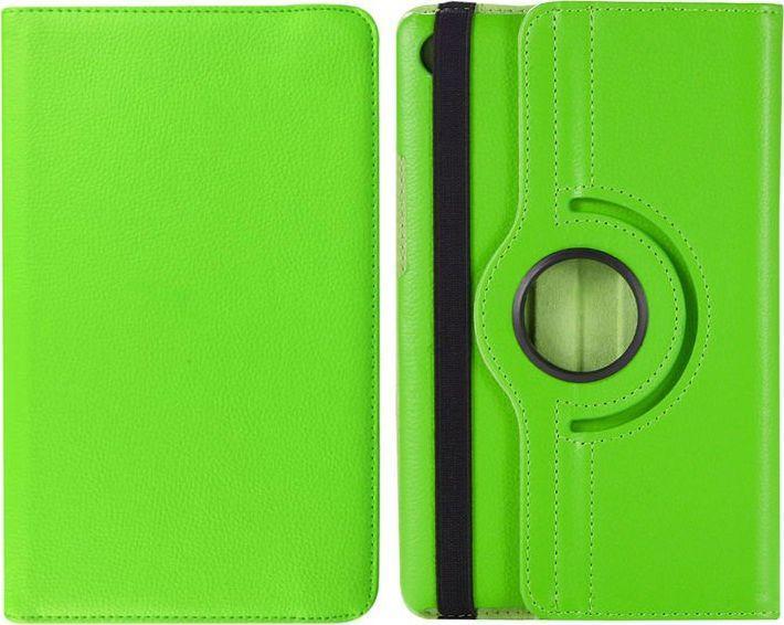 Etui do tabletu 4kom.pl Etui obrotowe 360 Huawei MediaPad M5 8.4 Zielone uniwersalny 1