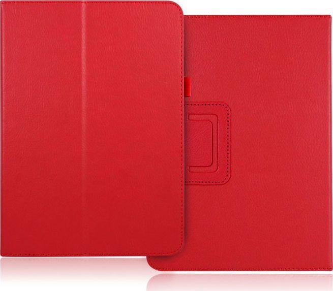 Etui do tabletu 4kom.pl Etui stojak Huawei MediaPad M5 8.4 Czerwone uniwersalny 1