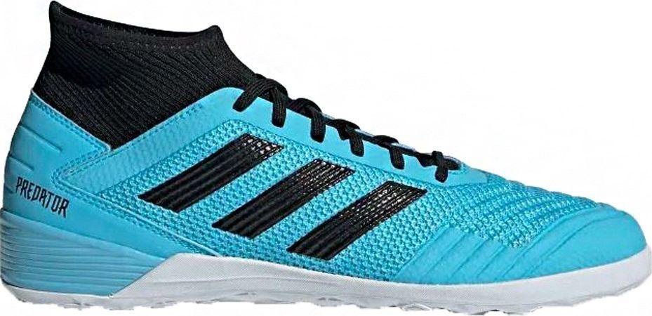 Adidas Buty piłkarskie adidas Predator 19.3 IN niebieskie F35615 45 1/3 1