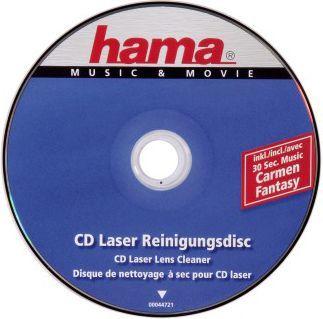 Hama Płyta czyszcząca do napędów CD/DVD 1 szt. (447210000) 1
