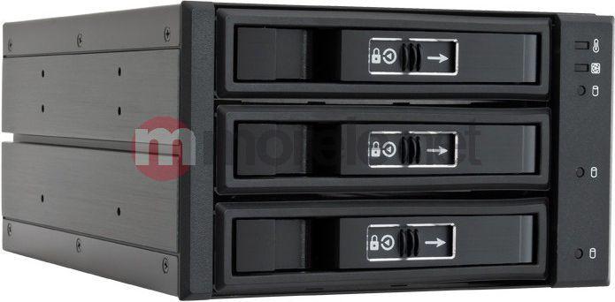 """Kieszeń Chieftec 3x 3.5"""" SATA/SAS (CBP-2131SAS) 1"""