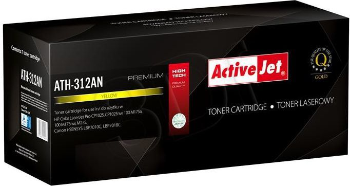 Activejet toner ATH-312AN / CE312A (yellow) 1