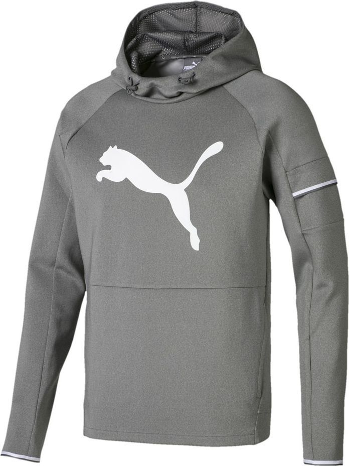 Puma Bluza męska Tec Sports Cat Hoody szara r. XL (854168 03) ID produktu: 6168536