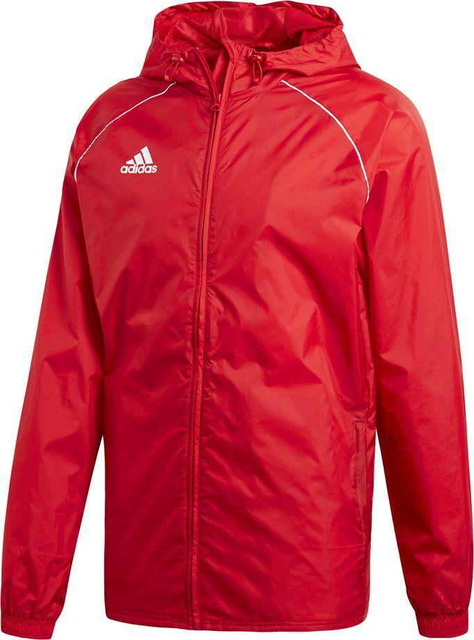 Adidas Kurtka męska Core 18 Rain czerwona r. XL (CV3695) ID produktu: 6169714