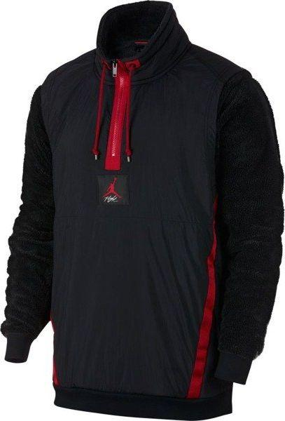 Data wydania dobra jakość najlepiej online Jordan Bluza męska 1/4 Zip Wings of Flight czarna r. M (AH6255-010) ID  produktu: 6173113