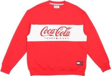 Kurtka z zapięciem na zamek i logo Coca Coli | RED | Tommy