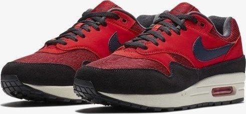 Nike Buty męskie Air Max 1 czerwone r. 43 (AH8145 600) ID produktu: 6176327