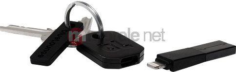 Adapter USB BlueLounge USB - Lightning Czarny (KII-BL-L) 1