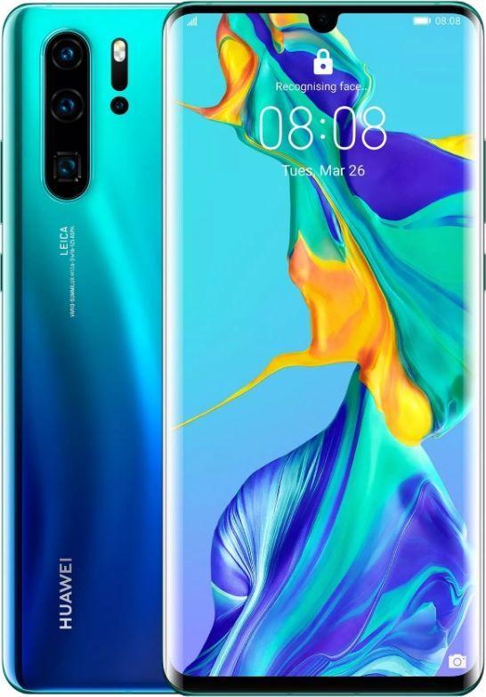 Smartfon Huawei P30 Pro 8/128GB Turkusowo-granatowy (Aurora Blue) 1
