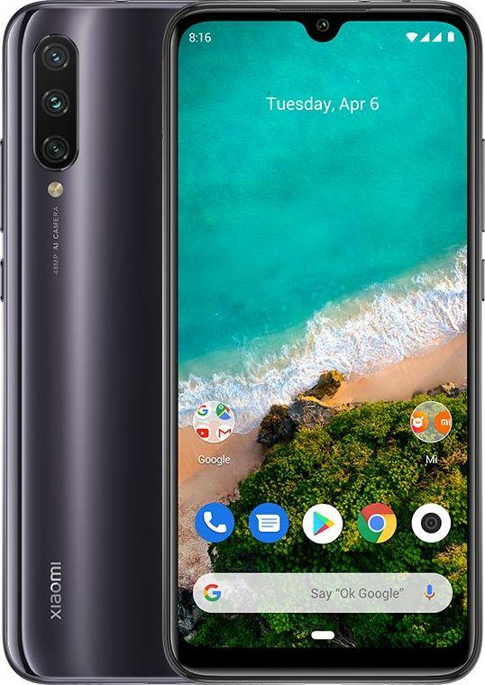 Smartfon Xiaomi Mi A3 128 GB Dual SIM Szary  (MZB7951EU) 1