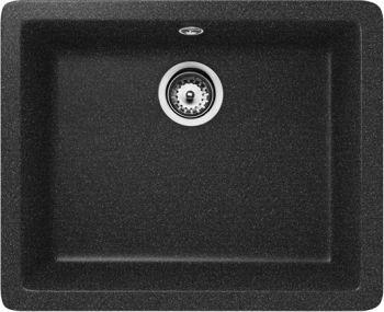 Teka Zlewozmywak 1-komorowy Radea TG bez ociekacza 55 x 43cm onyks (40143661) 1