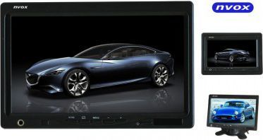 """Nvox Monitor LCD 7"""" HD zagłówkowy lub wolnostojący HM716HD 1"""